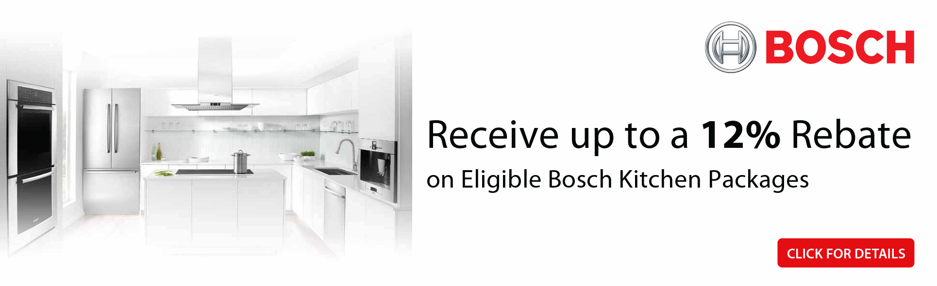 Bosch Kitchen Package Savings- Save up to 12%