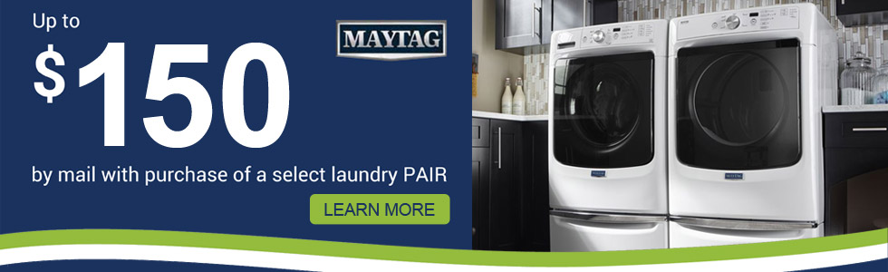 Maytag Independence Day Savings- Save up to $150